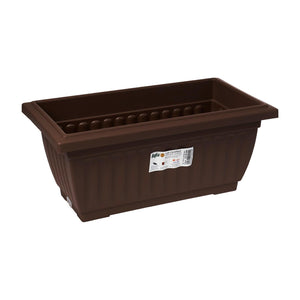 Planter Box 336MM X 187MM (Zen Brown), Planter Pot,Baba - greenleif.sg