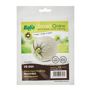 Melon Gorgeous Seeds VE-044 (6 Seeds), Seeds,Baba - greenleif.sg