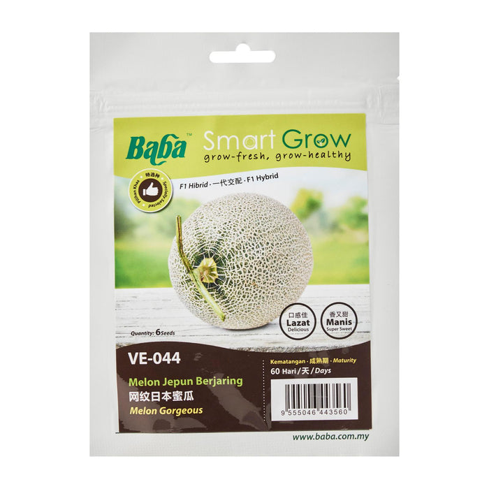 Melon Gorgeous Seeds VE-044 (6 Seeds)