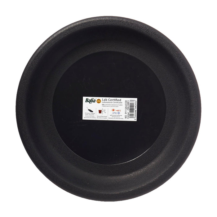 911 Plant Saucer 234MM (Zen Grey)