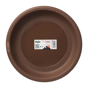 Plant Saucer 234MM (Zen Brown), Saucer,Baba - greenleif.sg
