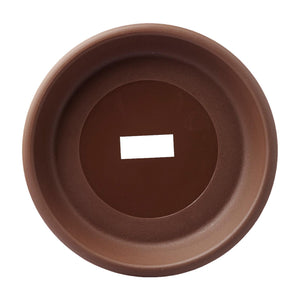 916 Plant Saucer 327MM (Zen Brown), Saucer,Baba - greenleif.sg