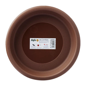 Plant Saucer 200MM (Zen Brown), Saucer,Baba - greenleif.sg
