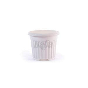 Round Pot 310MM (Zen White), Planter Pot,Baba - greenleif.sg