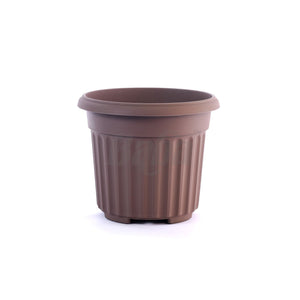 Round Pot XXL 392MM (Zen Brown), Planter Pot,Baba - greenleif.sg