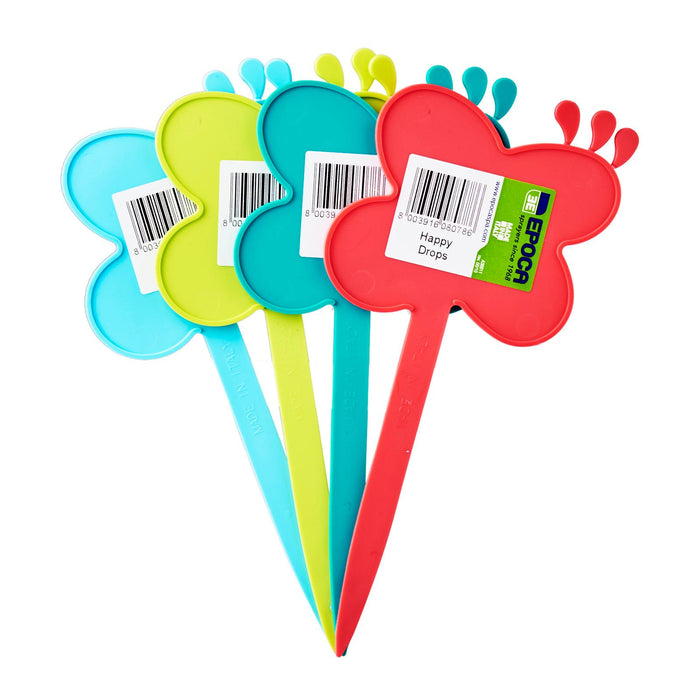 Happy Drops Garden Decoration Plant Marker 4 Colours (Assorted)