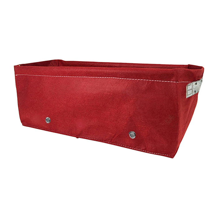 45L Fabric Gardening Raised Bed (60 x 30 x 25cm) Red