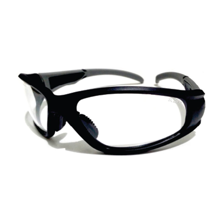 Black Frame Design Safety Glasses