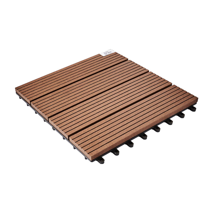 [5 PCS] DIY Wooden Composite Flooring Coffee (300MMx300MM)