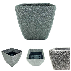 Black Sandstone Fiberglass Pot, ,Others - greenleif.sg