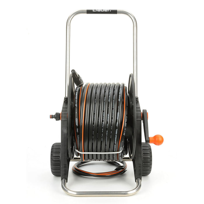 8864 PRONTO 30 HOSE REEL CART KIT WITH 30M HOSE AND ADJUSTABLE SPRAY