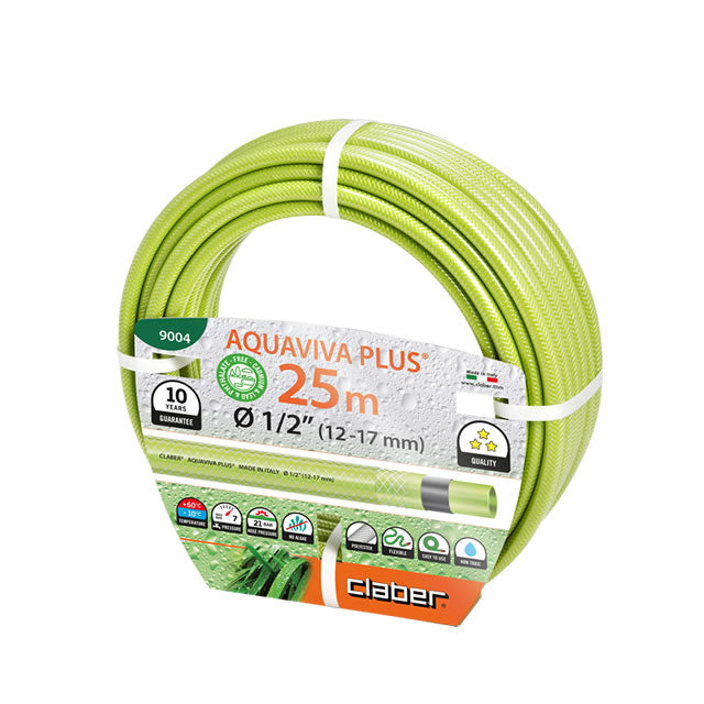 "9004 AQUAVIVA PLUS HOSE 1/2"" 25M"