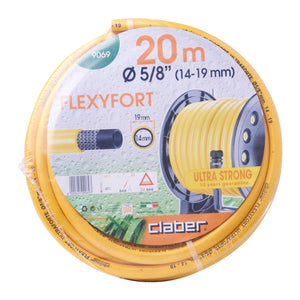 9069 FLEXYFORT HOSE 15-19MM 20M, ,Claber - greenleif.sg