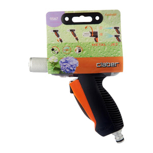 9567 METAL JET SPRAY PISTOL WITH RESISTANCE, ,Claber - greenleif.sg