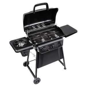 Classic 3-Burner Gas BBQ Grill With Side Burner, ,Char-Broil - greenleif.sg