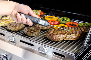 Instant-Read Digital BBQ Meat Thermometer