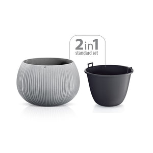 Beton Bowl Plant Pot 290mm x 195mm