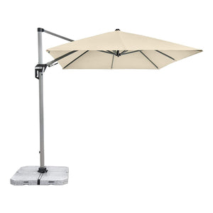 Active Cantilever Parasol Umbrella (White) [Base Not Included], ,Doppler - greenleif.sg