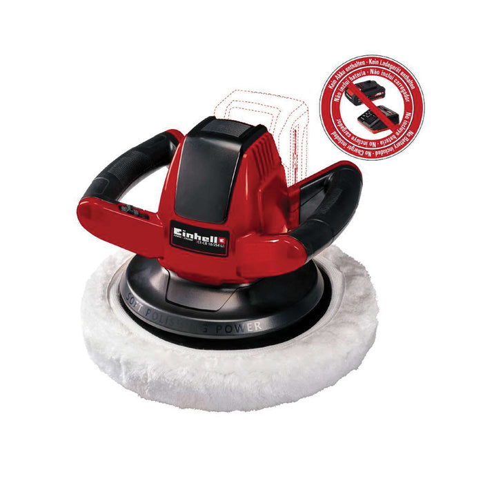 Cordless Car Polisher [CE-CB 18/254 Li-Solo] [No Battery Included]
