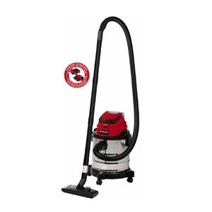 Cordless Wet/Dry Vacuum Cleaner (20L) TC-VC 18/20 Li S-Solo [No Battery Included], Vacuum Cleaner,Einhell - greenleif.sg