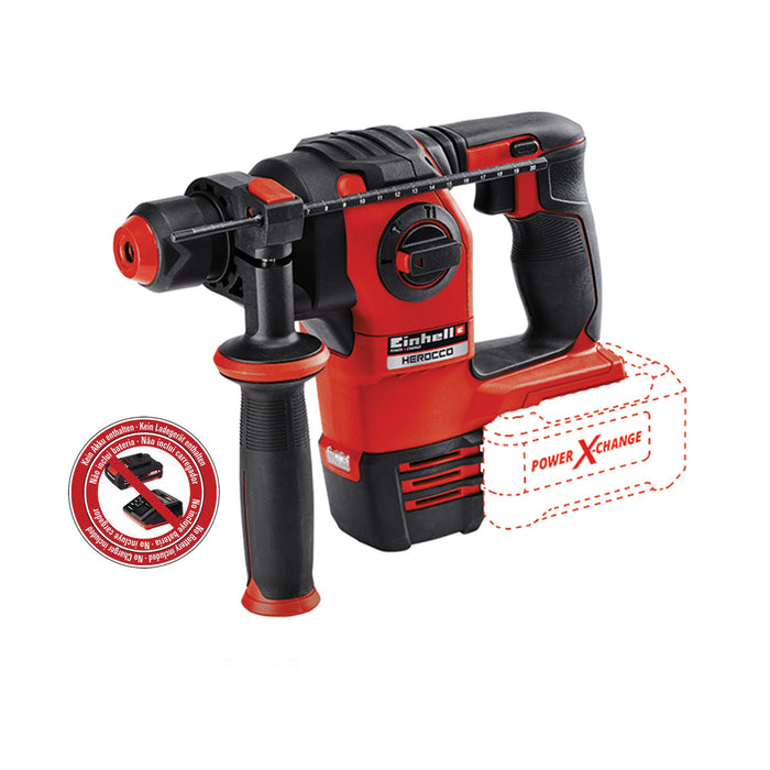 Cordless Rotary Hammer HEROCCO [No Battery Included]