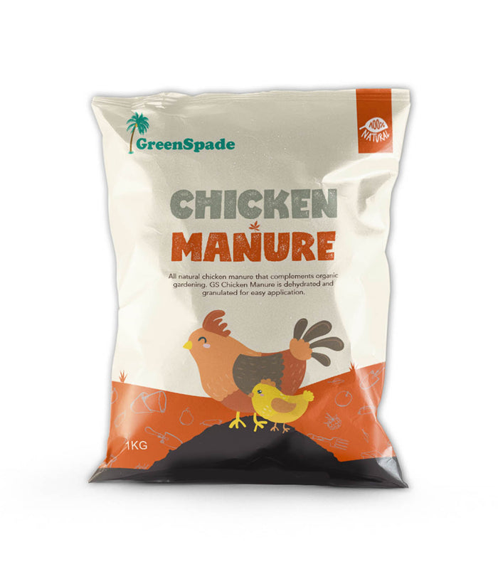 GreenSpade Composted Chicken Manure Fertilizer 1kg