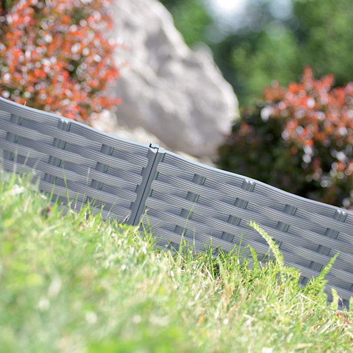 IBRA Garden Decoration Border / Fence (3900mm x 186mm)