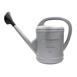 Classico Watering Can Silver (500x230x350mm), ,Prosperplast - greenleif.sg