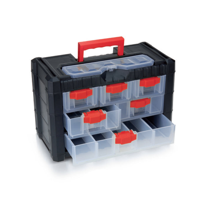 "Multicase Cargo Tool Box 10"" (6 drawers)"