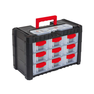 "Multicase Cargo Tool Box 10"" (9 drawers), ,Prosperplast - greenleif.sg"