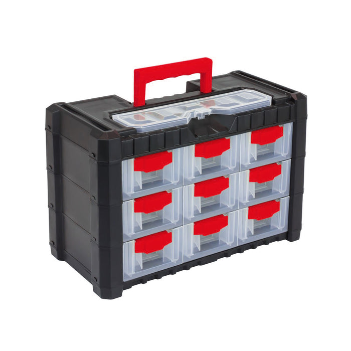 "Multicase Cargo Tool Box 10"" (9 drawers)"