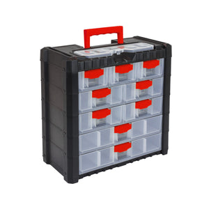 "Multicase Cargo Tool Box 16"" (9 drawers), ,Prosperplast - greenleif.sg"