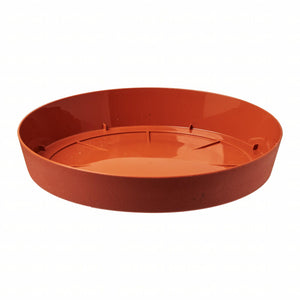Lofly Saucer 190mm - Terracotta, ,Prosperplast - greenleif.sg