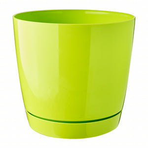 Coubi Round Pot (155x142mm) - Lime, ,Prosperplast - greenleif.sg