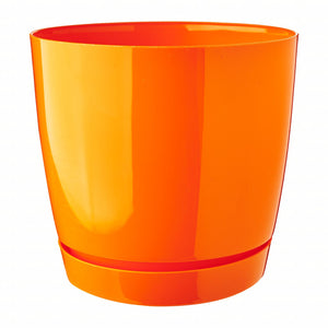 Coubi Round Pot (155x142mm) - Orange, ,Prosperplast - greenleif.sg