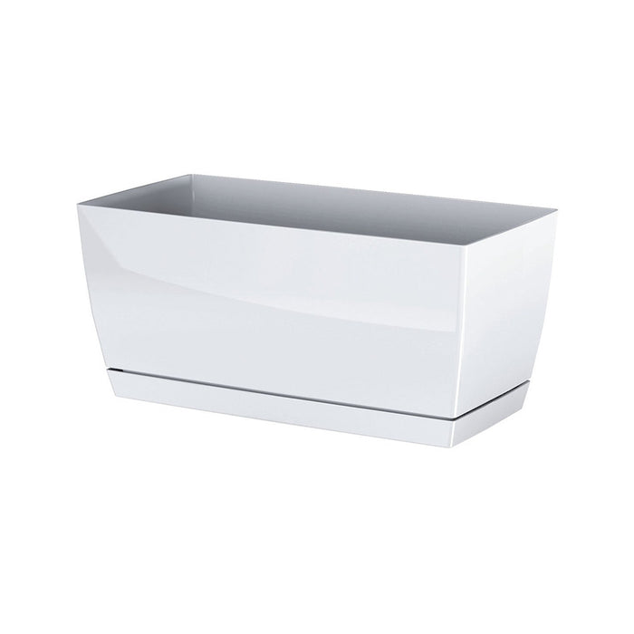 Coubi Rectangular Pot (290x142x136mm) - White