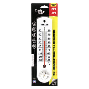 Indoor/Outdoor Thermometer & Hygrometer