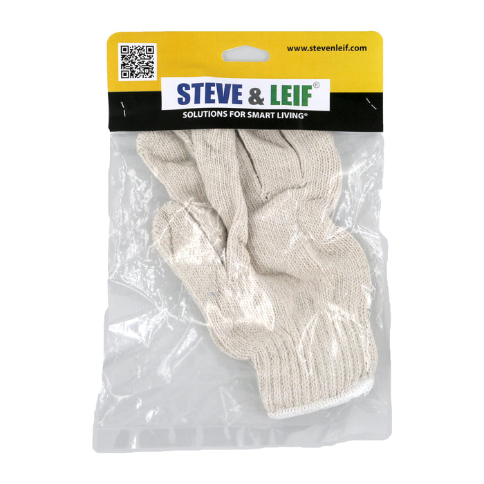 White Cotton Gardening Gloves
