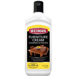 Weiman Wood Furniture Cream Cleaner & Polish (8 oz.), ,Weiman - greenleif.sg