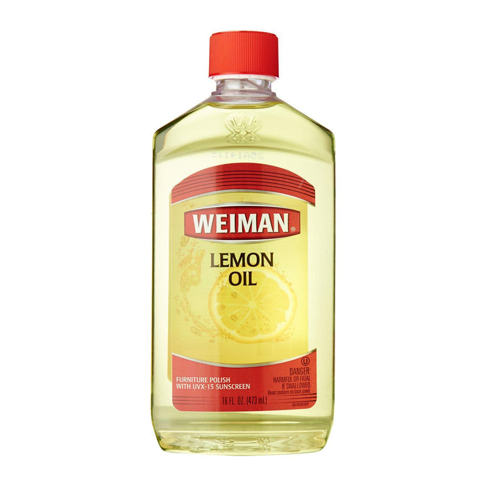 Weiman Lemon Oil Furniture Polish With UVX15 Sunscreen (16 oz.)