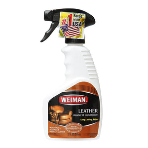 Weiman Leather Cleaner/Polish (12 oz.), ,Weiman - greenleif.sg