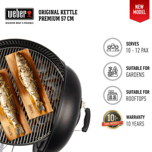 Weber Original Kettle Premium GBS Charcoal Grill 57cm