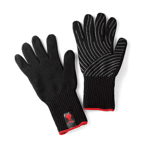 Weber Premium Glove Set - Black (Small/Medium Size)