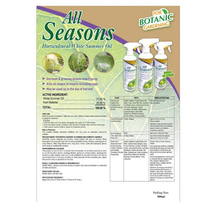 All Seasons Horticultural White Summer Oil (500ml), ,Others - greenleif.sg