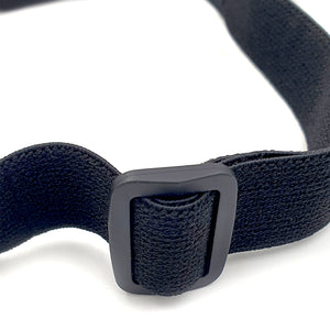 Wide Lens Full Cover Encapsulated Foam Seal Black Safety Glasses With Adjustable Strap