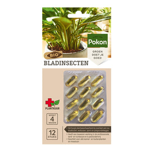 Pokon Bio-Leaf Insect Capsules (12 pieces)