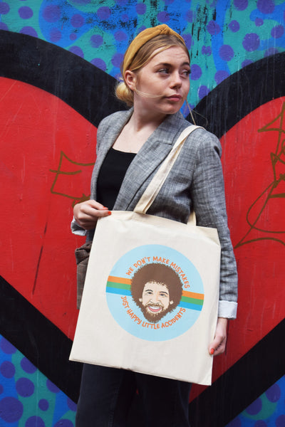 Bob Ross Tote Bag - Luna