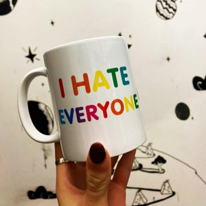 I Hate Everyone Mug - Luna