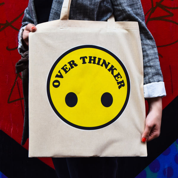 Over Thinker Tote Bag - Luna