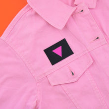 Pink Triangle Flag Patch | Luna